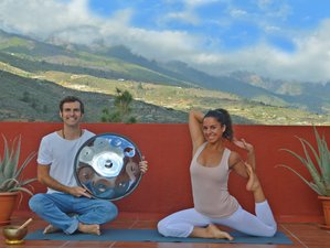4 Days handpan music and yoga retreat in Tenerife, Spain