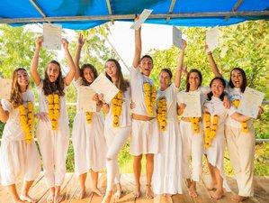 26 jours-200h en formation de professeur de yoga à Goa, Inde
