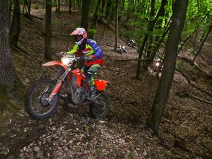 8 Days Enduro Heaven Guided Motorcycle Tour in Romania