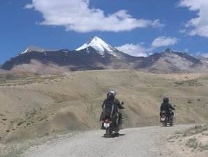 12 Day Kinnaur and Spiti Trans Himalayan Guided Motorcycle Tour in Northern India