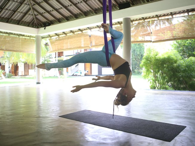 7 Tage Aerial Yoga Retreat in Sri Lanka