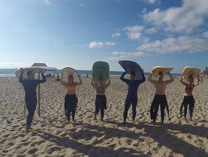 8 Days Fun Surf Guiding in Lisbon District, Portugal