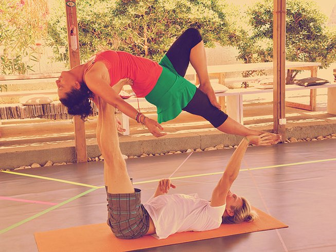 7 Days AcroYoga and Surf Camp Greece