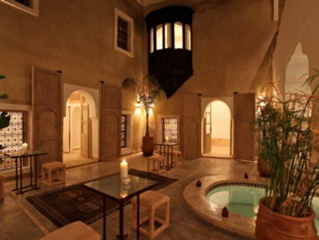 7 días de vacaciones de yoga de Navidad en Marrakech, Marruecos