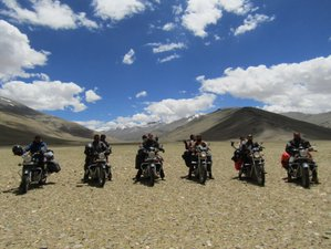 14 Days Leh Adventurous Guided Motorcycle Tour India