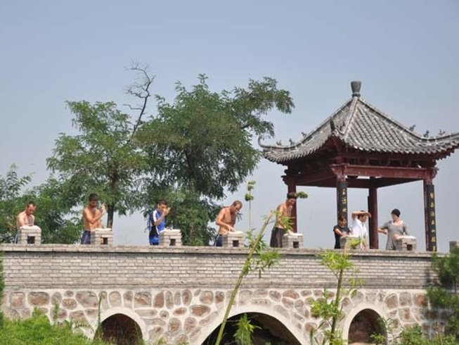 1 Month Shaolin Kungfu, Tai Chi & Wing chun Training at Maling Mountain, Xinyi, Jiangsu, China