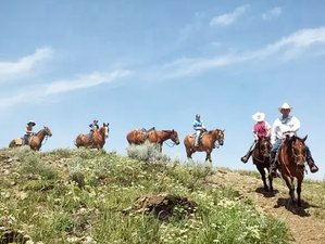 5 Day Remarkable Horseback Riding and Ranch Experience in Lincoln County, Wyoming