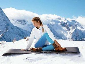 8 Tage Yoga im Luxus Hotel, Wandern oder Ski im Winter, 2000m² Wellness, in Vorarlberg, Österreich