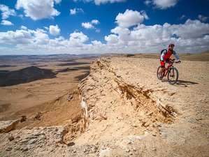 5 Days Adventure Cycling Holiday in Negev Desert, Israel