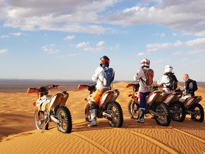 7 Day Ouarzazate Loop Guided Desert Motorcycle Tour in Morocco