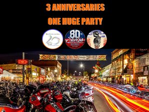 11 Days 'Black Hills Motorcycle Rally' Sturgis 80th Anniversary Guided Motorcycle Tour