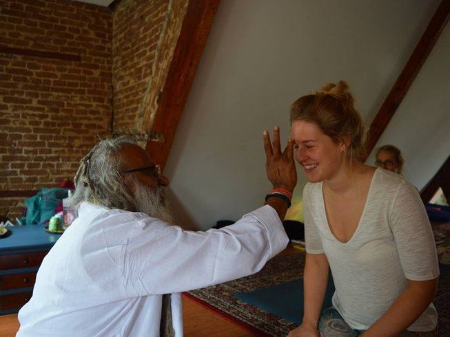 23 Days 200 Hours Yoga Teacher Training in Pushkar, India