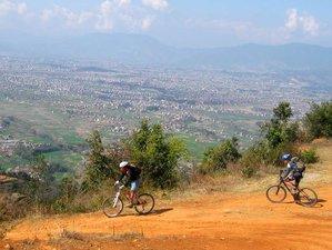 3 Days Kathmandu Cultural Trail Biking Tour in Nepal