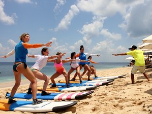 6 Day Surfin2yoga Retreat in Uluwatu, Bali