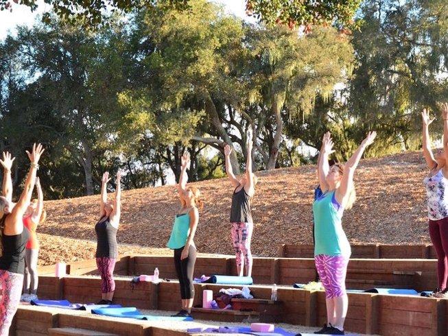 4 Days Women's Wine and Yoga Retreat in California
