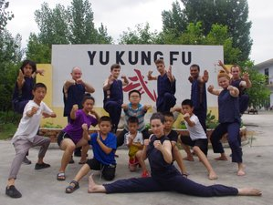 9 Months Shaolin Wushu Kung Fu Training in Zaozhuang, China