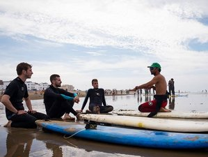 7 days Surf Coaching sunset surfhouse Tamraght, Morocco