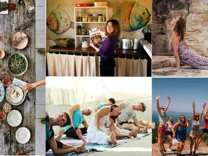8 Day Vegetarian Yoga and Cooking classes retreat on Vis Island, Adriatic Sea