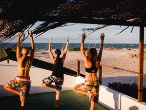 11 Tage Yoga Retreat im Kitesurf Paradies Parajuru, Brasilien