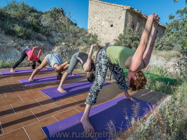 7 jours en retraite de yoga et méditation à Murcie, Espagne