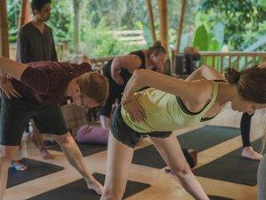 7 días de vacaciones de yoga de bienestar en el ashram de Shanti Toya, Bali
