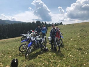 4 Days Weekend Getaway Enduro Motorcycle Tour in Transylvania, Romania