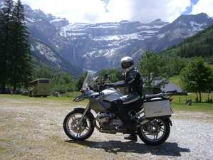 7 Day Self-Guided Motorcycle Tour Spain and France Through Pyrenees