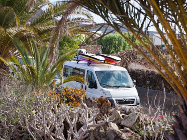 8 días vacaciones de surf y yoga en Fuerteventura, España