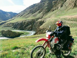 12 Day Guided Way Round Motorcycle Tour in Kyrgyzstan