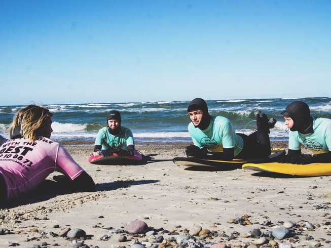5 Days Cold Hawaii Yoga Holiday and Surf Camp in Thisted, Denmark