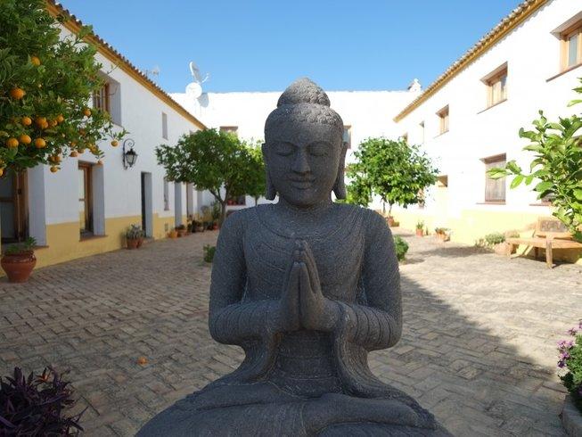 6 días retiro de yoga y meditación de Año Nuevo en Andalucía, España