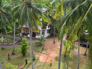 Surffreundliche Unterkunft in der Seaview Deepal Villa am Unawatuna Beach, Sri Lanka