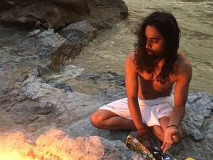 4 días de meditación relajada y retiro de yoga en Rishikesh, India