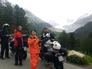9 Day Self-Guided Motorcycle Tour in the Alps and the Dolomites including the Stelvio, Italy
