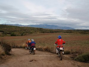 5 Days Pre-Pyrenees Bergueda Enduro Motorcycle Tour in Catalonia, Spain