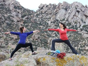3 Days USA Yoga and Rock Climbing