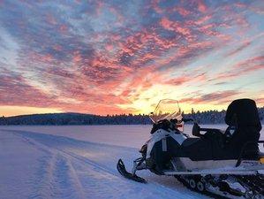 2 Days Guided Snowmobile Trip in Kiruna, Sweden