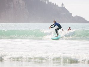 7 Day Learn to Surf Camp in Whangamata, North Island