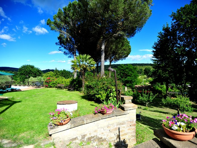 8 Days Cooking Classes and Yoga Retreat in Latium, Italy