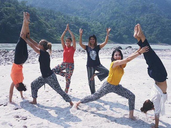 25 Days 200-Hour Yoga Teacher Training Rishikesh India