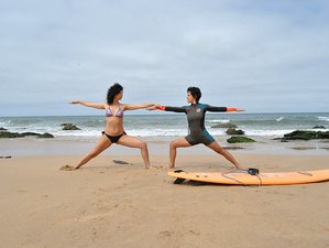 8 Days Surf Sup Yoga Retreat in Lourinhã, Portugal