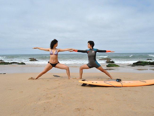 8 días de retiro de surf y yoga en Lourinhã, Portugal