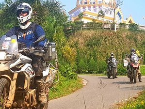 2 Days The Chiang Rai Loop Self Guided Motorbike Tour in Thailand