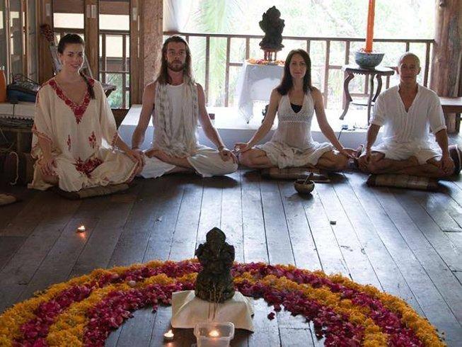 4 Tage Tabak Farm Yoga Urlaub in Chiang Mai, Thailand