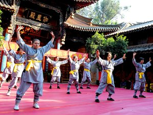 1-Month Shaolin Warrior Program in the Official Shaolin Temple Yunnan, Kunming City