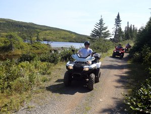 3 Day Guided ATV Tour in the Wilds of Newfoundland, Canada