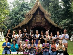 22 Days 200 Hours Hatha & Ashtanga Vinyasa Yoga Teacher Training in Chiangmai, Thailand