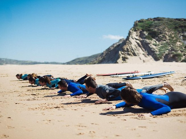 7 Days Coached Surf Camp in Torres Vedras, Portugal
