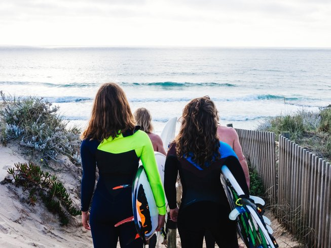 7 Days Surfing and Yoga Retreat Portugal
