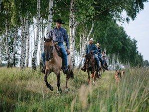 7 Days Ranczo Rosochacz Horse Riding Holiday in Poland